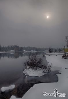 Snowy Day - Torch River Michigan 1