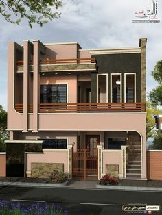 There are many modern residential house design ideas that we can discuss. Here we have outlined some key examples of modern residential house design ideas House Main Gates Design, House Front Design, Small House Design, Modern House Design, Classic House Design, Bungalow House Design, Beautiful Modern Homes, Family House Plans, House Elevation