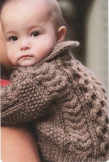 Ravelry: Lil Bear cardigan pattern by Lisa Ellis Knitting For Kids, Baby Knitting Patterns, Baby Patterns, Hand Knitting, Knit Baby Sweaters, Toddler Sweater, Baby Knits, Knit Or Crochet, Crochet Baby