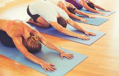 Weight loss and yoga might not look like they go side by side. The reason is that lots of people view yoga as stress release or tone muscle. Fitness Video, Yoga Fitness, Free Fitness, Fitness Classes, Yoga Classes, Fitness Studio, Vinyasa Yoga, Yoga Flow, Yoga Challenge