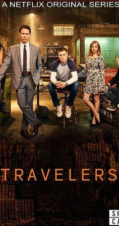Created by Brad Wright.  With Eric McCormack, MacKenzie Porter, Nesta Cooper, Jared Abrahamson. Hundreds of years from now, surviving humans discover how to send consciousness back through time, into people of the 21st century. These travelers assume the lives of others, while attempting to save humanity from a terrible future.