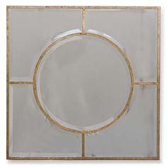 Regina Andrew Decor Gold Leaf Wall Mirror RA56789