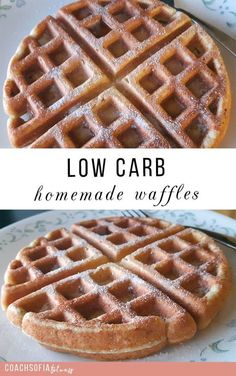 homemade waffle recipe | low carb |easy waffle