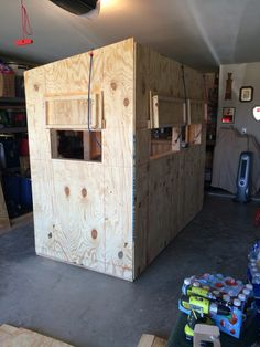 5x5 Deer Blind Plans Back View Lov Deer Hunting