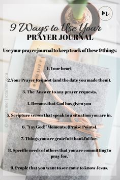 Do you struggle with sharing your heart with God? A prayer journal might help. Learn why every woman needs a prayer journal + 9 different ways to use yours. http://www.lotanner.com/every-woman-needs-a-prayer-journal @mrslotanner