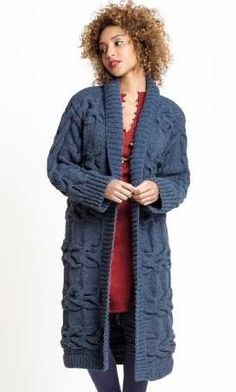 Free free cardigan knitting patterns with long sleeves Patterns ⋆ Knitting Bee free knitting patterns) Free Knitting Patterns For Women, Knitting Patterns Free, Free Pattern, Knitting Ideas, Knitted Coat Pattern, Knit Cardigan Pattern, Coat Patterns, Lace Knitting, Crochet Clothes