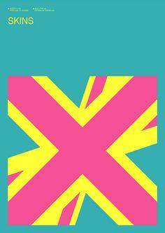 Skins (UK) Poster by Albert Exergian