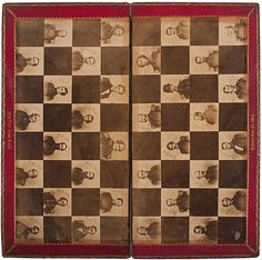 Civil War Chess Board