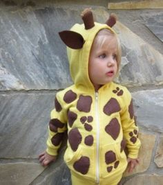 DIY costume giraffe--- I'm pretty sure each of my future kids will be a giraffe for halloween at least once