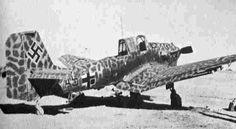 D.A.K. STUKA, desert camo, 1942