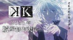 'K: Return Of Kings' Anime Gets Fourth Announcement Spot   The Fandom Post
