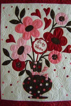 Valentine | Quilted by Jessica's Quilting Studio | Jessica Gamez | Flickr