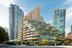 shigeru ban reveals plans for terrace house the worlds tallest hybrid timber structure