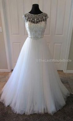 Maggie Sottero Leandra: buy this dress for a fraction of the salon price on PreOwnedWeddingDresses.com