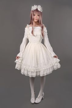 Fancy Dream Jumper Skirt - $67.19 : Soufflesong,An Indie Lolita Fashion ,Gothic Vintage Brand