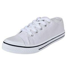 Ebay Angebot Low Top Damen Sportschuhe Turnschuhe Sneaker Canvas Sport Schnür Schuhe Gr. 36#SIhr QuickBerater