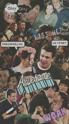 Marshall and Lily How I Met Your Mother, Barney And Robin, Marshall And Lily, Ted Mosby, Learn Sign Language, Yellow Umbrella, Disney Movie Quotes, I Meet You, Travel Activities