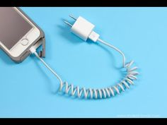 How to Coil Your Cell Phone Cord for a Cleaner, Saner Home