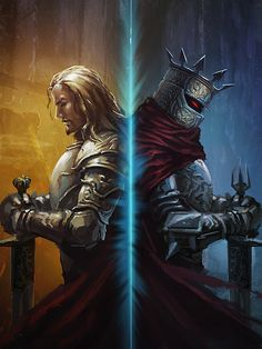 IN LIFE: Lord Loren Soth of Dargaard Keep;Knight of Solamnia  ///  IN DEATH: Lord Soth, the Knight of the Black Rose                                                                                              Inspiring Concept Art by Kai Huang