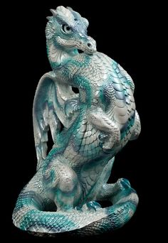 Windstone Editions Emperor Dragon - Winter Storm Test Paint #1