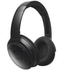 Bose® headphones: World-class noise cancellation. Bluetooth® and NFC pairing. Up to wireless battery life per charge. Noise-rejecting dual-microphone system for calls. Wireless Noise Cancelling Headphones, Best Headphones, Over Ear Headphones, Bose Wireless, Skullcandy Headphones, Bluetooth Gadgets, Gaming Headphones, Best Gaming Headset, Smartphone
