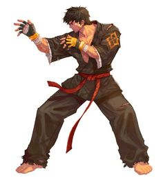Joseph Cross with no gear Game Character, Character Concept, Concept Art, Dnd Characters, Fantasy Characters, Martial Artists, King Of Fighters, Fantasy Warrior, The Villain