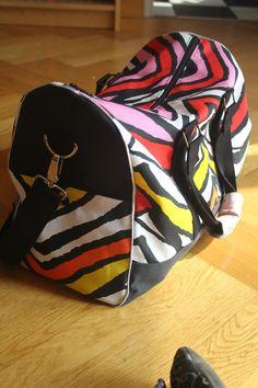 Le sac Boston qui accompagnera Marion à la maternité !