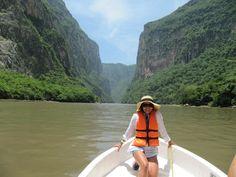 Viajar para desarrollar mis sentidos, eso me gusta! Recorrido por el Cañón del Sumidero en Tuxtla Gtz, Chiapas.  #selfiemoocarteytic