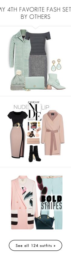 """MY 4TH FAVORITE FASH SETS BY OTHERS"" by dawn-lindenberg ❤ liked on Polyvore featuring Steffen Schraut, Valentino, Miss Selfridge, Tory Burch, Julie Aylward, Nancy Gonzalez, Emilio Pucci, Roksanda, SLY 010 and Nude by Nature"