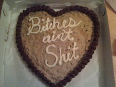 The gang got together and got you a cookie cake @Ali Colorado