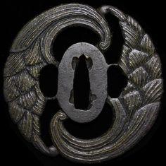 SUPERB 17C HEIANJO KATANA TSUBA Japan Original Early Edo Sword Antique | eBay Edo Period, Katana, Antique Art, Sword, Rings For Men, The Originals, Detail, Antiques, Ebay