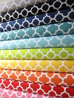 Quatre Foil Fabric Fat Quarter Sampler Bundle by minimushrooms #rileyblakedesigns #quatrefoil