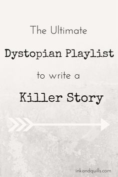 The Ultimate Dystopian Playlist to Write a Killer Story- A little more Trent Reznor and some of Hans Zimmer's Dark Knight Trilogy soundtrack, and you're all set! 《 This is a great playlist. Writing Quotes, Writing Advice, Writing Resources, Writing Help, Writing Skills, Writing A Book, Writing Prompts, Writing Ideas, Dialogue Writing