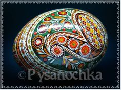 Real Ukrainian Pysanka GOOSE Pysanky Best by Halyna Easter Egg | eBay