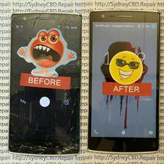 #OnePlusOne screen repaired today at #SydneyCBDrepairCentre  Call 8011-4119 / 043-777-4119 Http://sydneycbd.repair