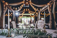The bride designed every aspect of her wedding at Longlook Farm. Photo by KLC Photography.