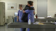 "DiNozzo hugs Palmer. ""Family First"" (Season 13, Episode 23 of NCIS)"