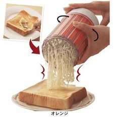 Never let your butter glob again. This Japanese butter grater will do the trick.