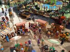Resultado de imagen de playmobil diorama