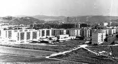Panoramio - Photo of Ózd - Latinka Sándor út (ma Szent István) és a Vadvirág helye
