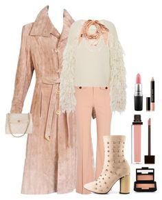 """Cold brisk night"" by kotnourka ❤ liked on Polyvore featuring Gucci, Chloé, Tabula Rasa, Cape Robbin, Jouer, Bobbi Brown Cosmetics, MAC Cosmetics and NARS Cosmetics"