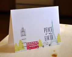 Maile Belles: PTI Simply Stamped: City Scene + 'Tis the Season Sentiments