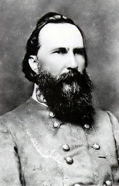 "Confederate General James Longstreet. Lee's right hand man, especially after the loss of ""Stonewall"" Jackson. Lee called my ""Old War Horse"" but Longstreet strongly disagreed with about Pickett's charge at Gettysburg and after the war criticized Lee for the decision. Longstreet was never forgiven in the South for criticizing Robert E. Lee."