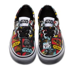 Summer Shoes for the Star Wars Skate Set