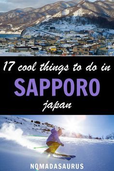 From viewing the biggest zoo in the country to enjoying a pint of freshly brewed beer at the Beer Museum, here's our lost of the absolute best things to do in Sapporo, Japan. things to do in Sapporo, Japan Asia Travel, Japan Travel, Travel Couple, Family Travel, Travel Guides, Travel Tips, Travel Advice, Stuff To Do, Things To Do