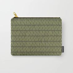 Funny Green Carry-All Pouch by murkydesign : Perfect gift idea! It can be used for toiletries, art supplies, makeup and smaller electronics. Carry-all pouch is avilable in different sizes. Herringbone, Art Supplies, Carry On, Pattern Design, Doodle, Zip Around Wallet, Pouch, Xmas, Electronics
