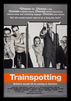 Trainspotting (1996) #film #posters #90s