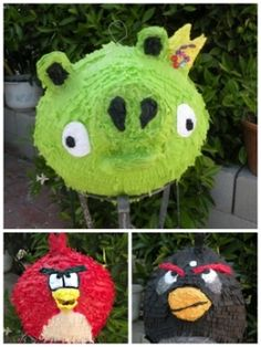 Angry Birds Party Ideas   http://www.perfect-parties.com/angry-birds-party.html   #angry birds, #kid birthday, #party ideas