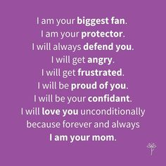 This is for you, moms, wherever you are with your kids today, whether they are with you and driving you insane or you are missing them like crazy while they are away. Mother Daughter Quotes, Mother Daughter Relationships, Your Biggest Fan, Love You Unconditionally, Teen Mom, Parent Resources, Parenting Teens, Proud Of You, Get One