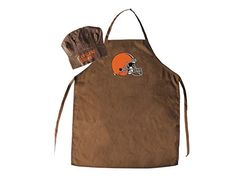PSG Cleveland Browns Chef Hat and Apron Set -- Continue to the product at the image link.